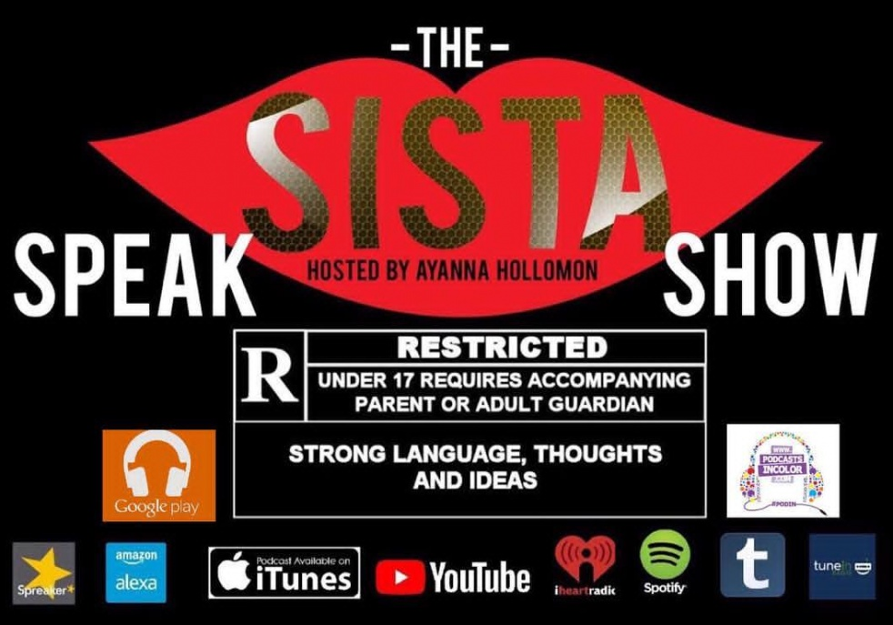 THE  SISTA SPEAK SHOW - show cover
