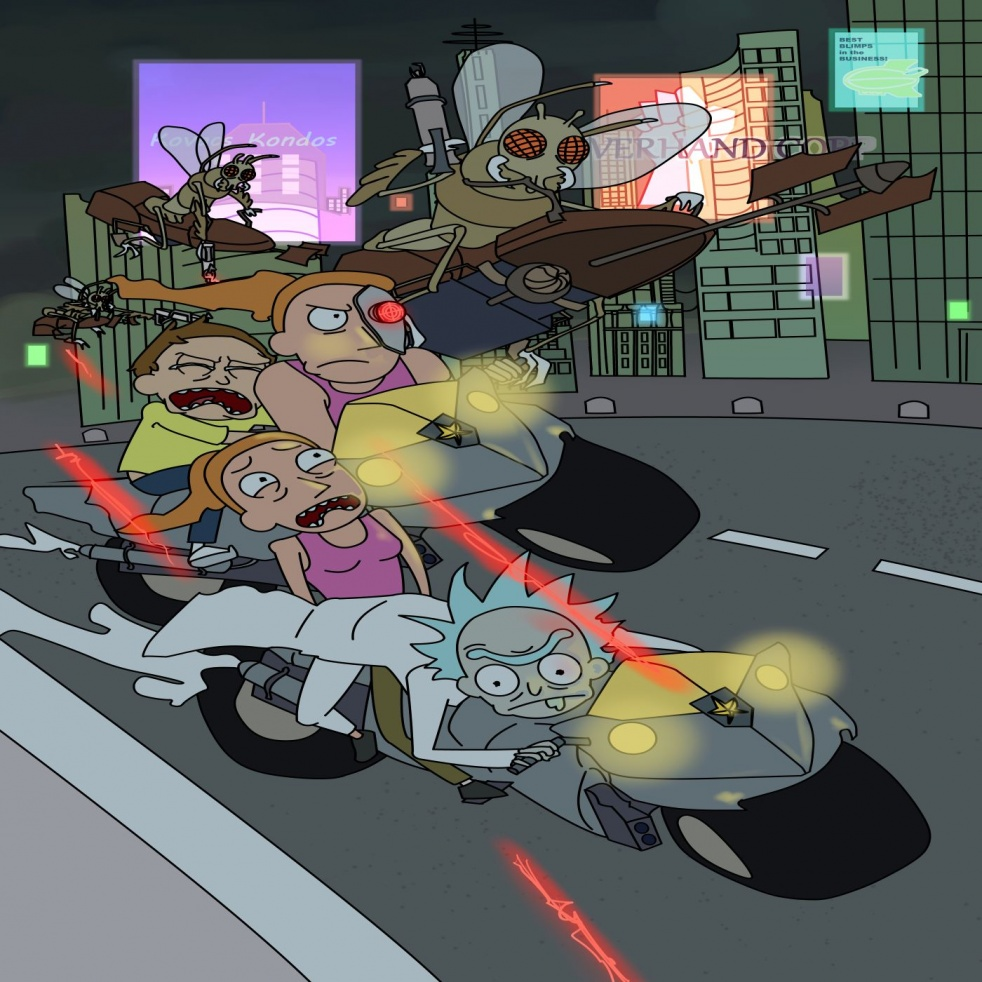 Rick and Morty C-138: Audio Drama Series - Cover Image