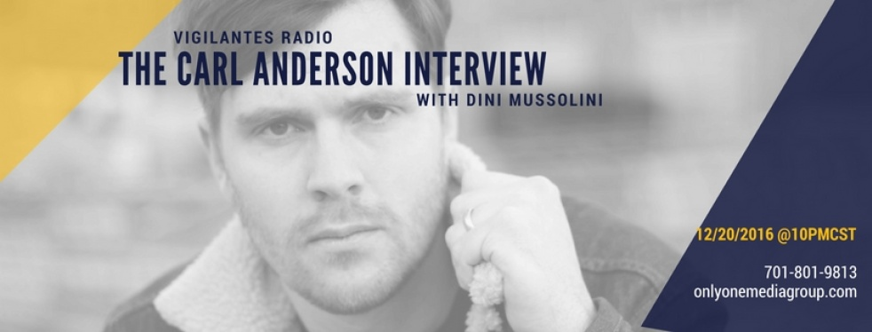 The Carl Anderson Interview. - show cover