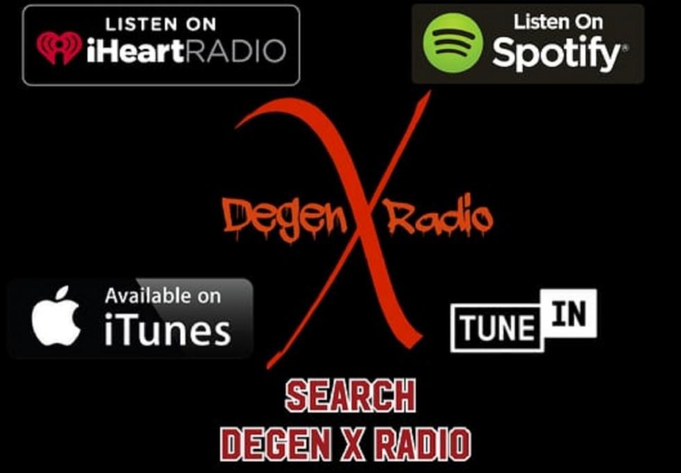 Degen X Radio - imagen de show de portada