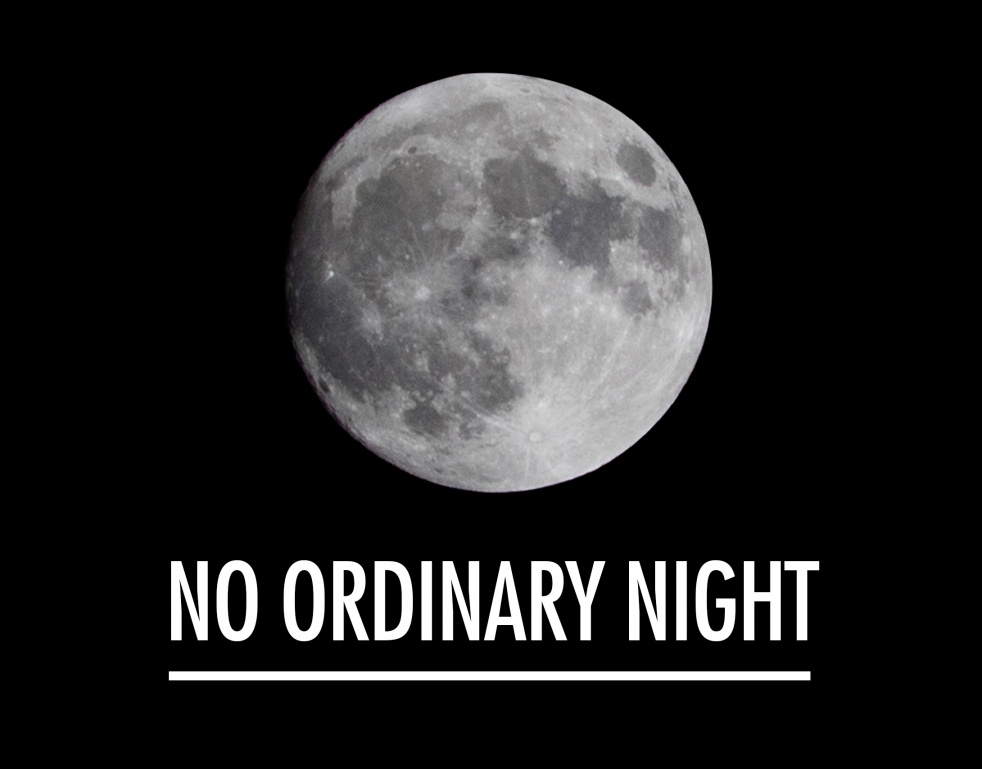 NO ORDINARY NIGHT - Cover Image