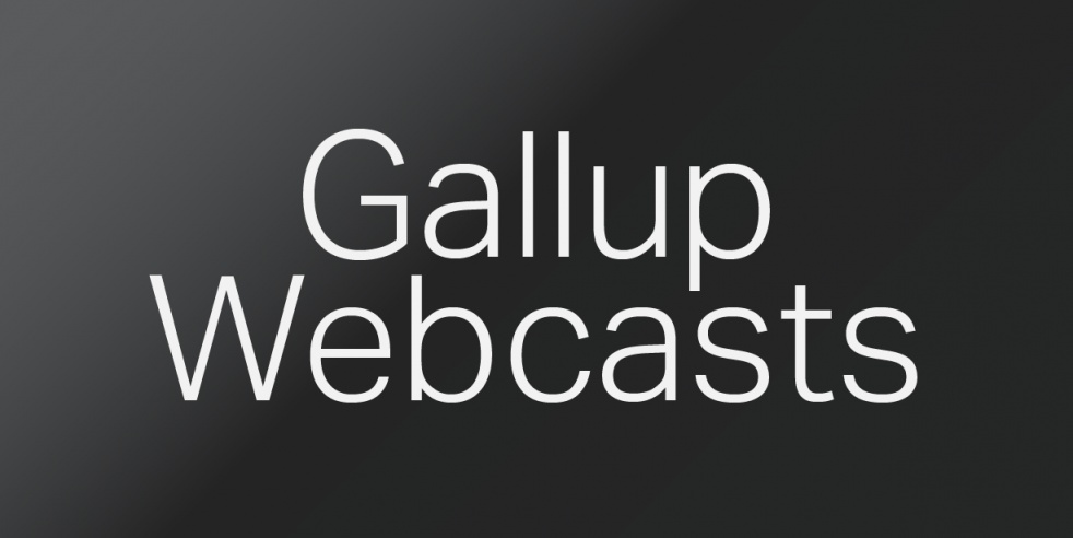 LIVE Gallup Webcasts - show cover