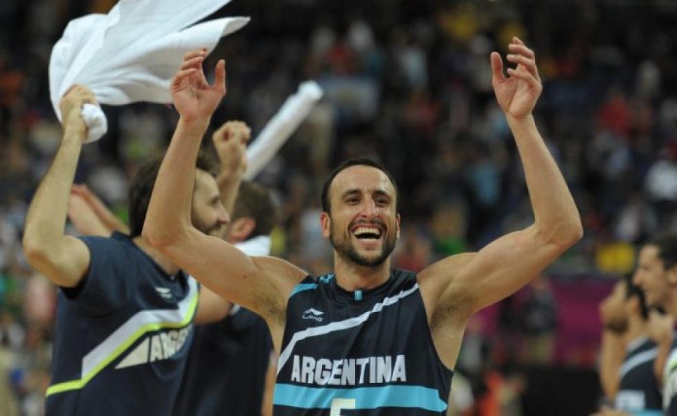 Ginobili. Argentine basketball player. - Cover Image