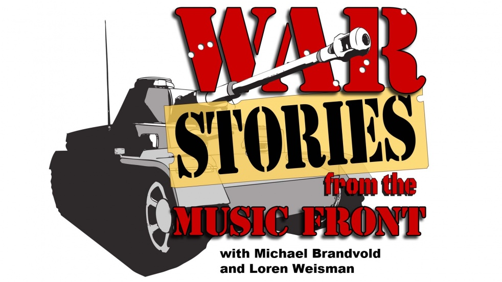 War Stories from the Music Front - show cover