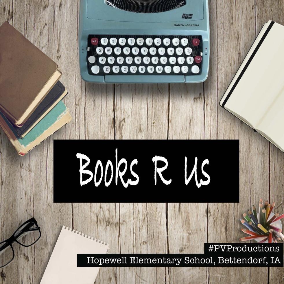 Books R Us - imagen de show de portada