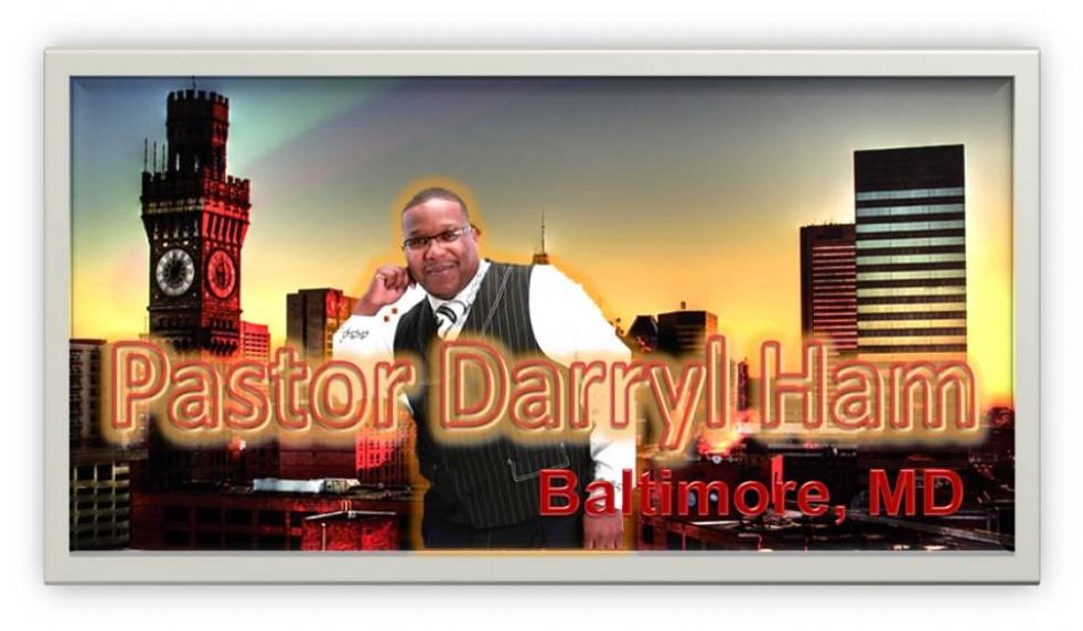 Pastor Darryl Ham - Baltimore, MD - imagen de show de portada