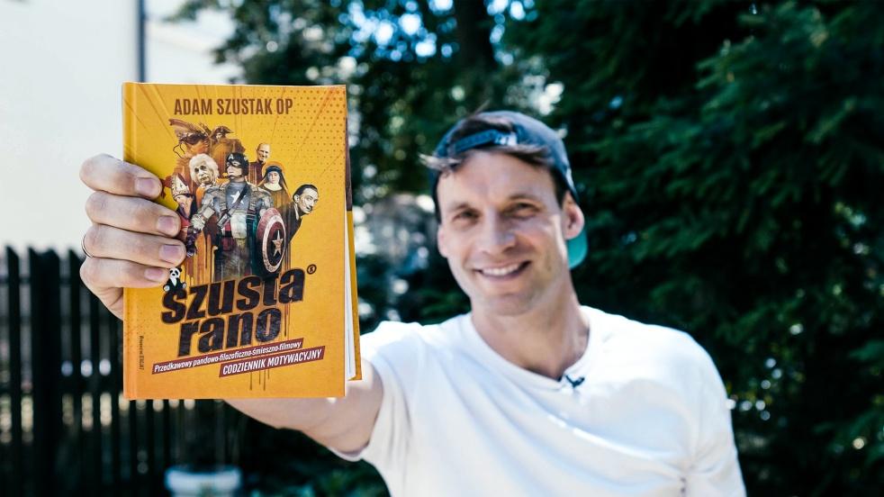 """Tomasz Wolny czyta """"Szustą Rano"""" - immagine di copertina"""
