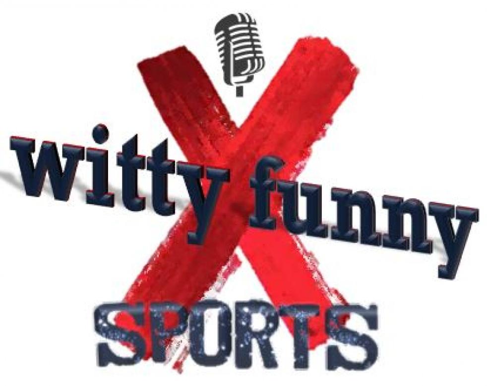 wittyNOTfunny Sports Podcast - imagen de show de portada