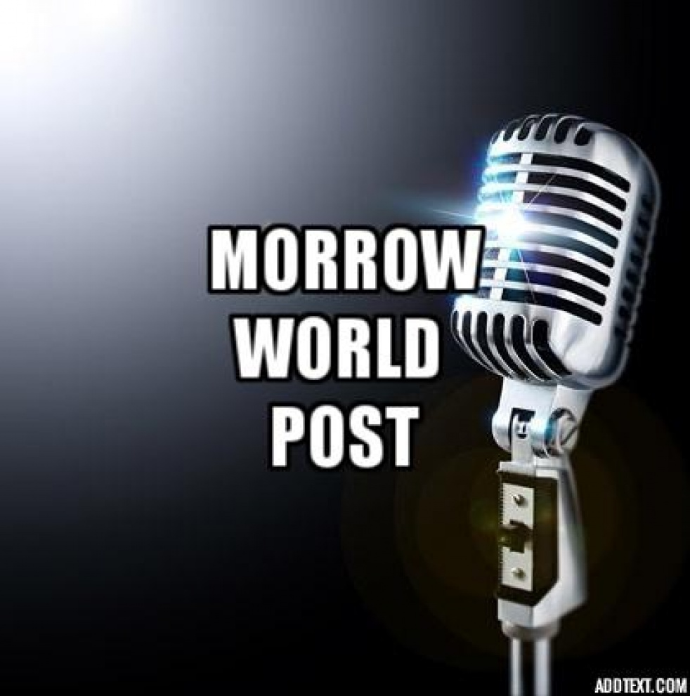 Morrow World Post - show cover