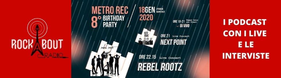 Metrò Rec 8 Birthday Party - 18 gen 20 - Cover Image