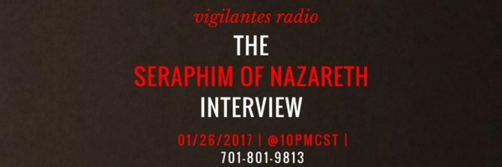 The Seraphim of Nazareth Interview. - immagine di copertina dello show