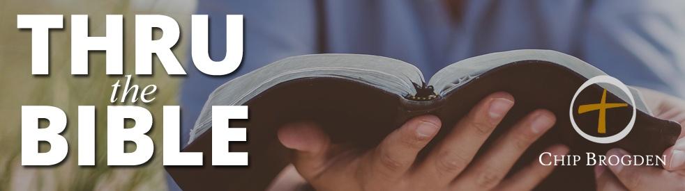 Thru the Bible with Chip Brogden - immagine di copertina dello show