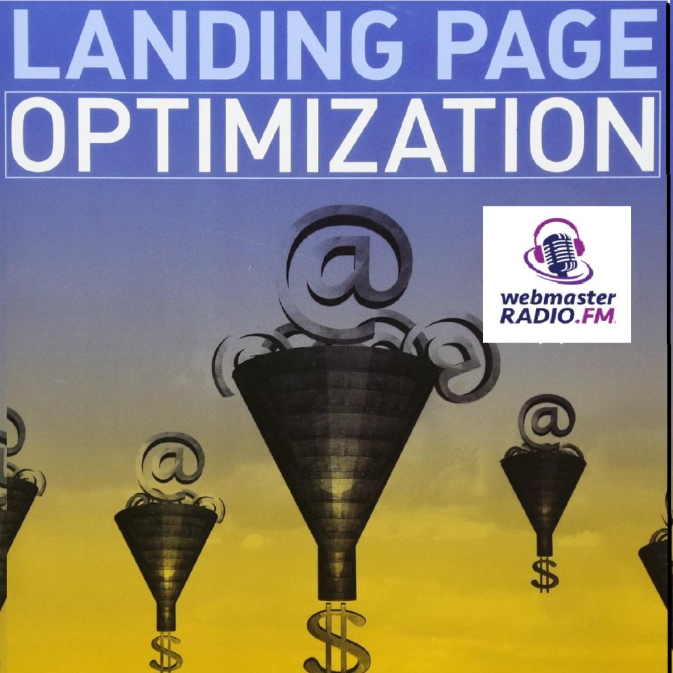 Landing Page Optimization With Tim Ash - imagen de show de portada