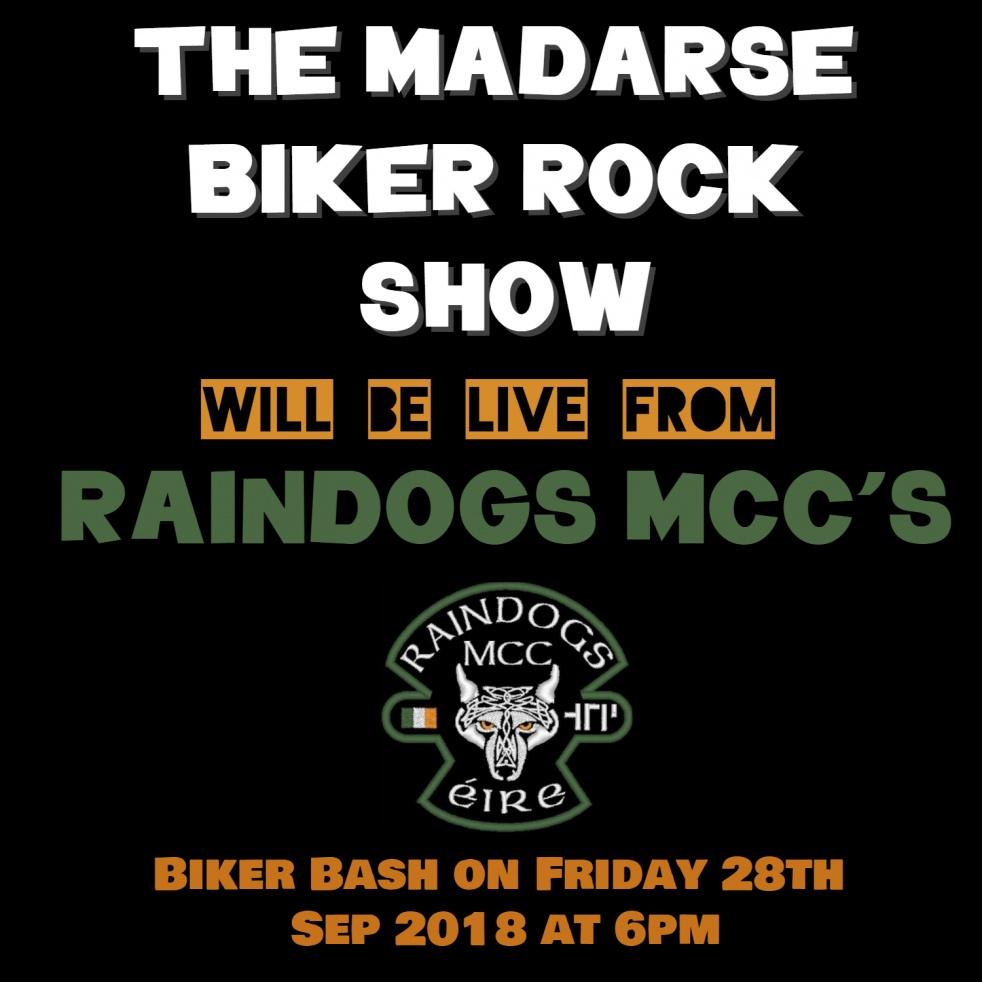 The Madarse Biker Rock Show - imagen de show de portada