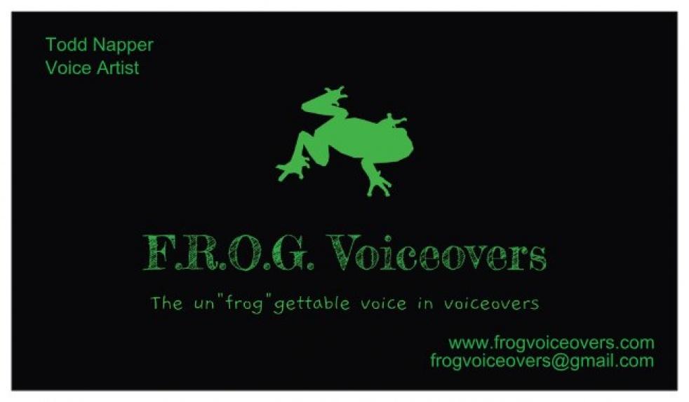 Frog Voiceovers By Todd Napper - immagine di copertina