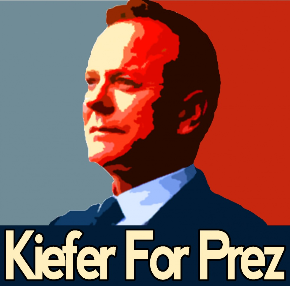 Designated Survivor: Kiefer For Prez - Cover Image