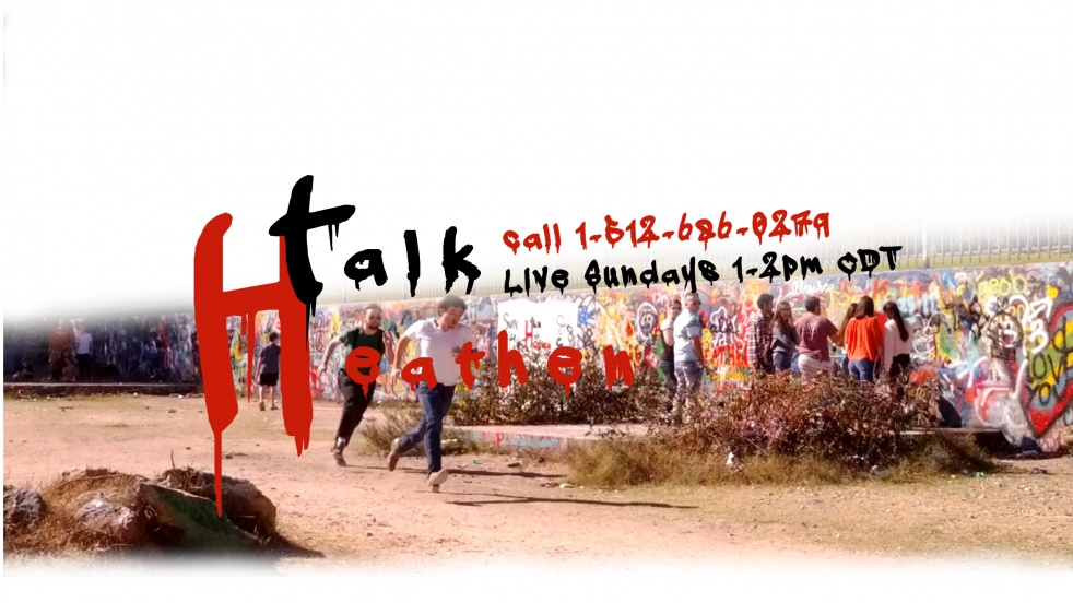 Talk Heathen - show cover