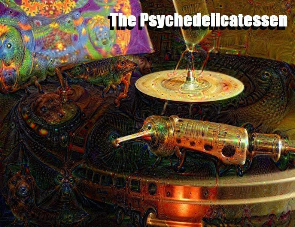The Psychedelicatessen - imagen de show de portada