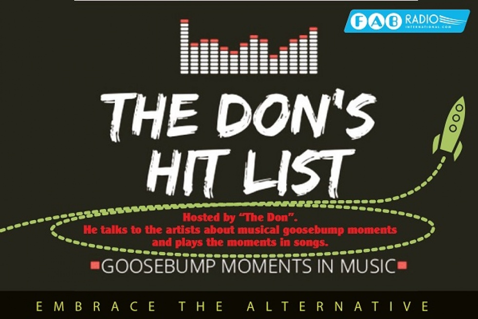The Don's Hit List on FAB Radio International - show cover