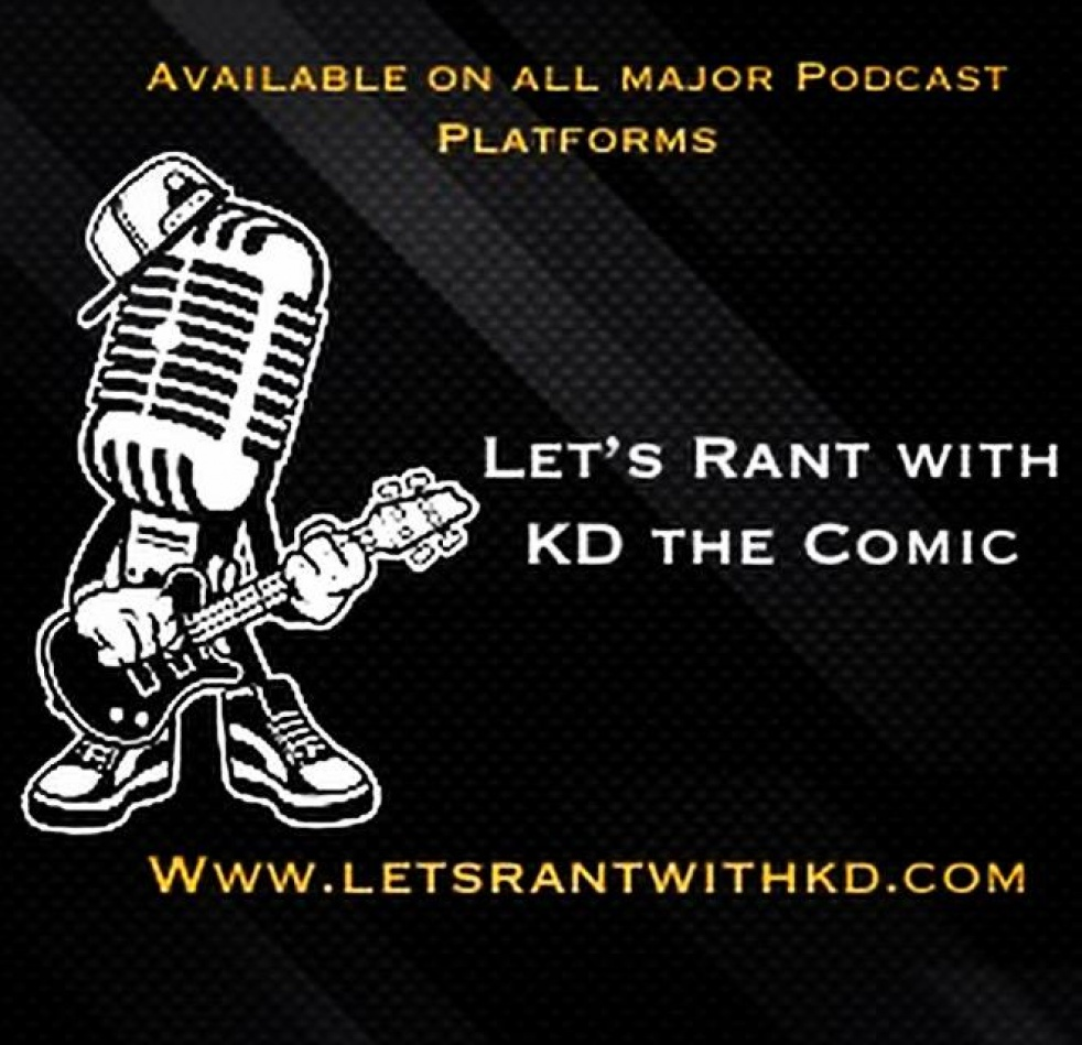 Let's Rant With KD THE COMIC - Cover Image