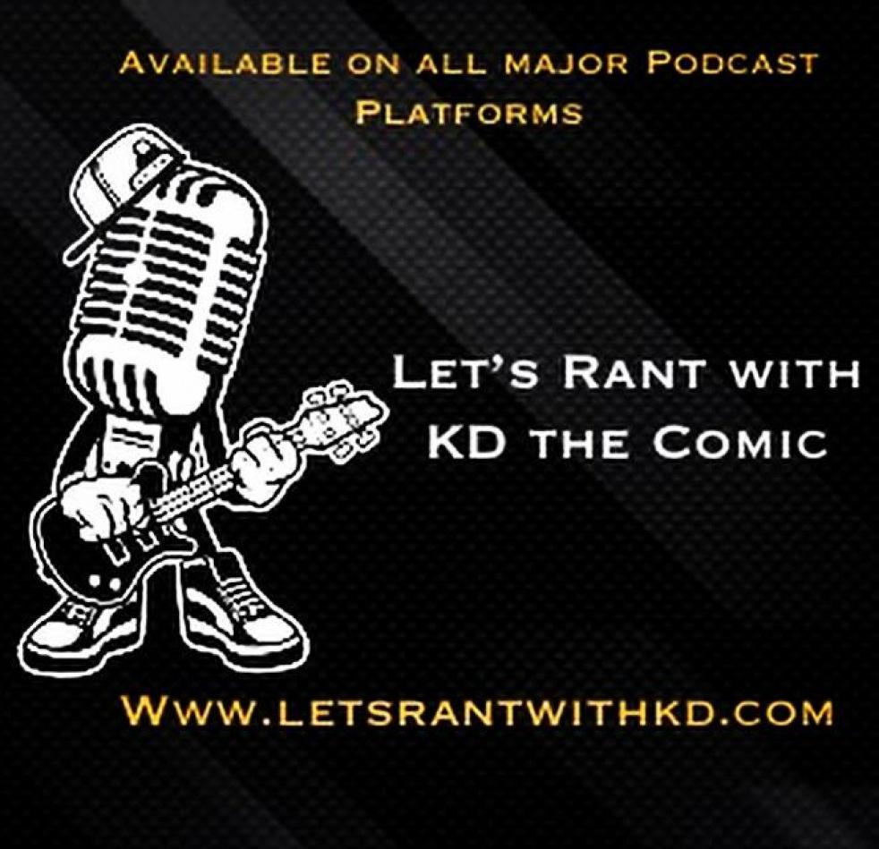 Let's Rant With KD THE COMIC - imagen de portada