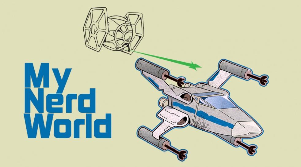 My Nerd World: Star Wars Podcast - imagen de show de portada