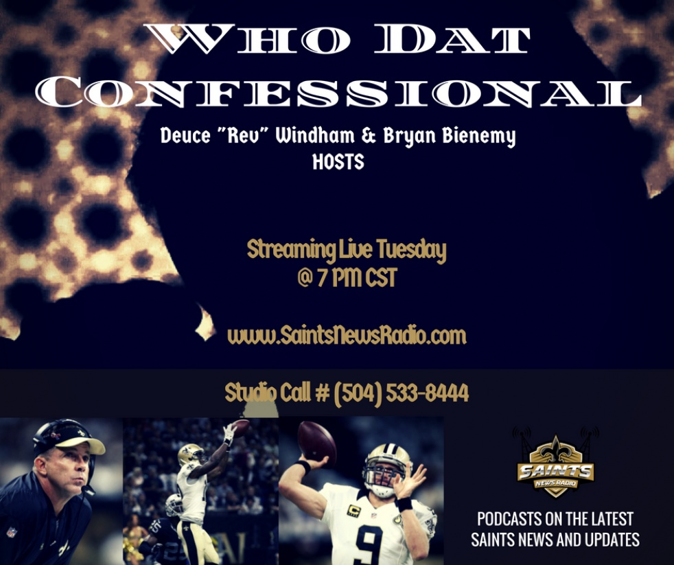 Who Dat Confessional - show cover