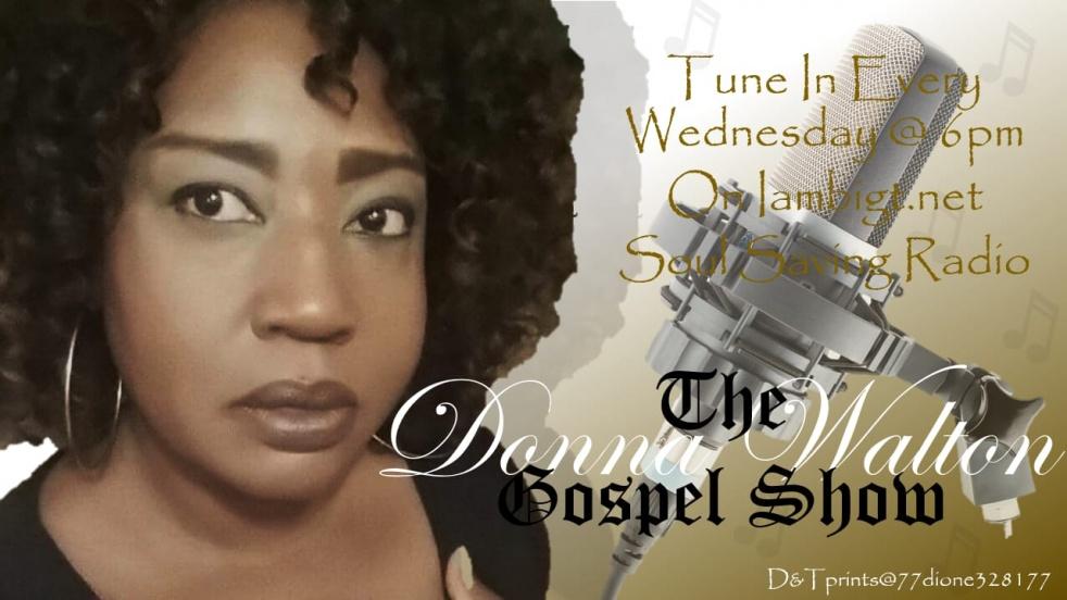 Conversations w/Radio Host Donna Walton - imagen de show de portada