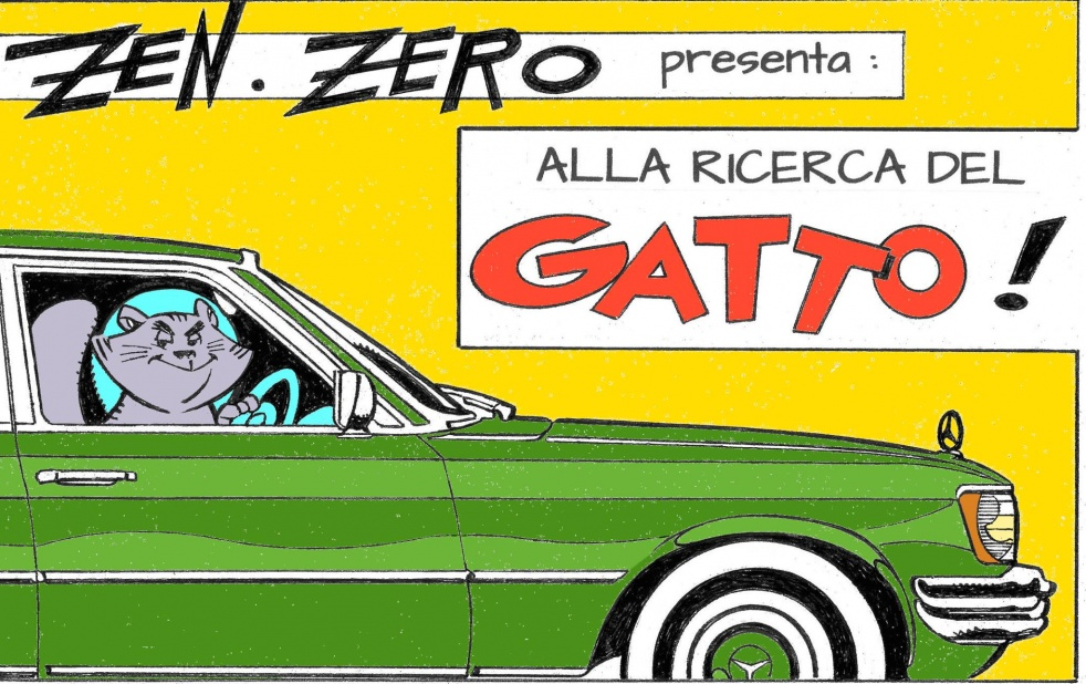 Alla ricerca del Gatto - show cover