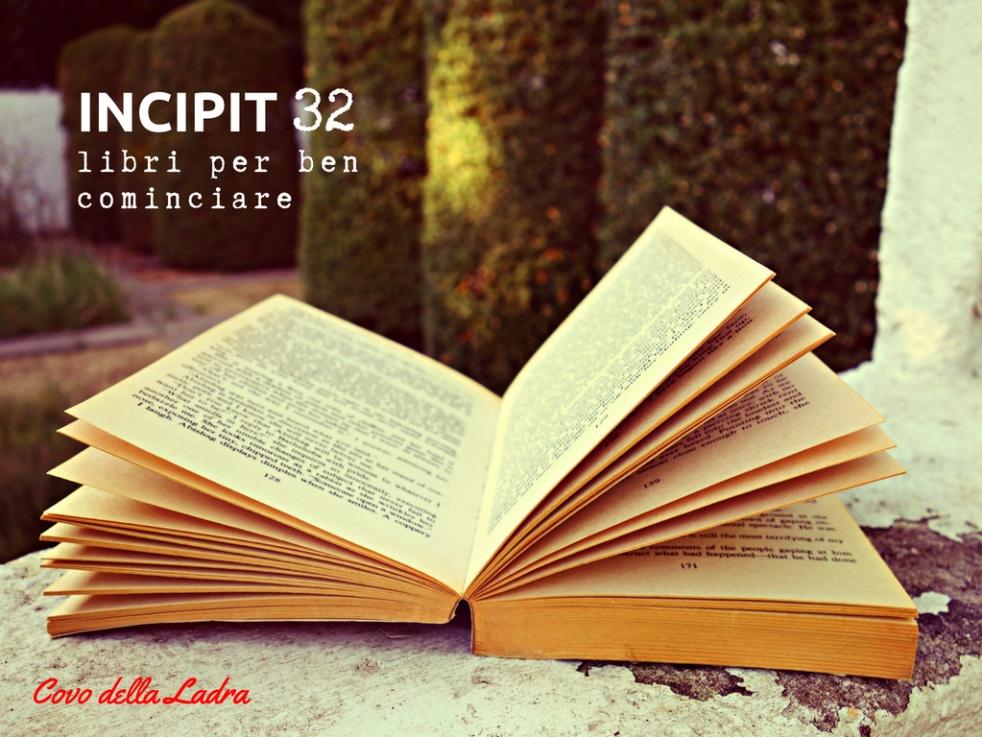 INCIPIT32 - Libri per ben cominiciare - show cover