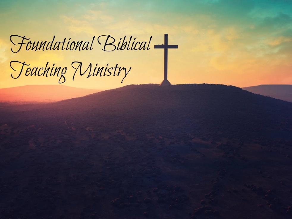 Foundational Biblical Teaching Ministry - immagine di copertina dello show