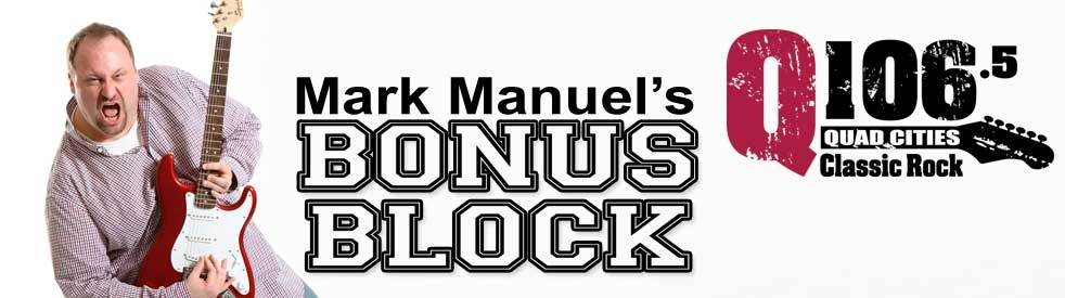 Mark Manuel's Bonus Block - show cover