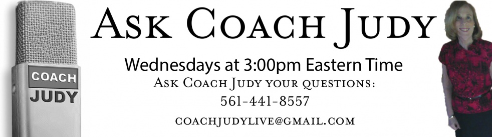 Ask Coach Judy - show cover