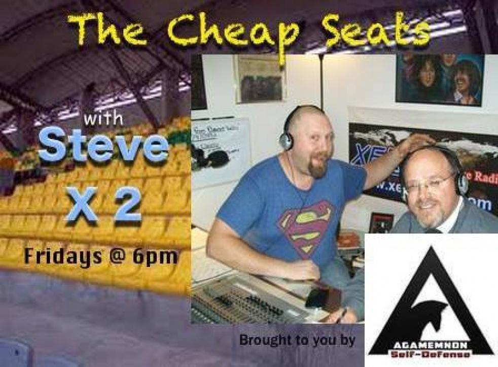 Cheap Seats Podcast w/ Steve & Steve - imagen de show de portada