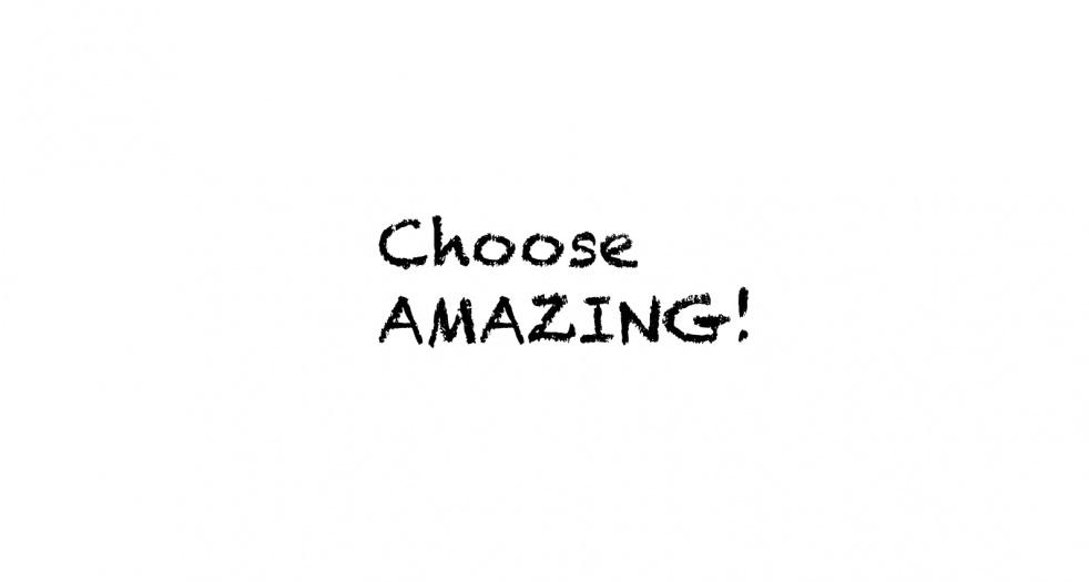 Choose Amazing Bible - imagen de show de portada