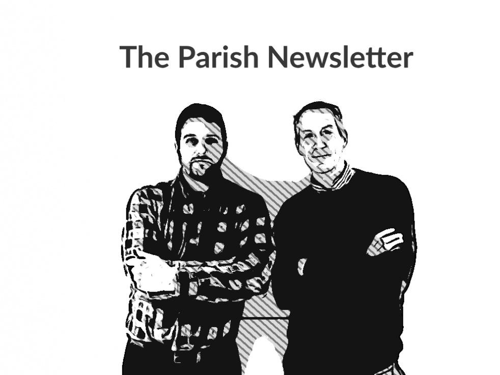 The Parish Newsletter's show - imagen de show de portada