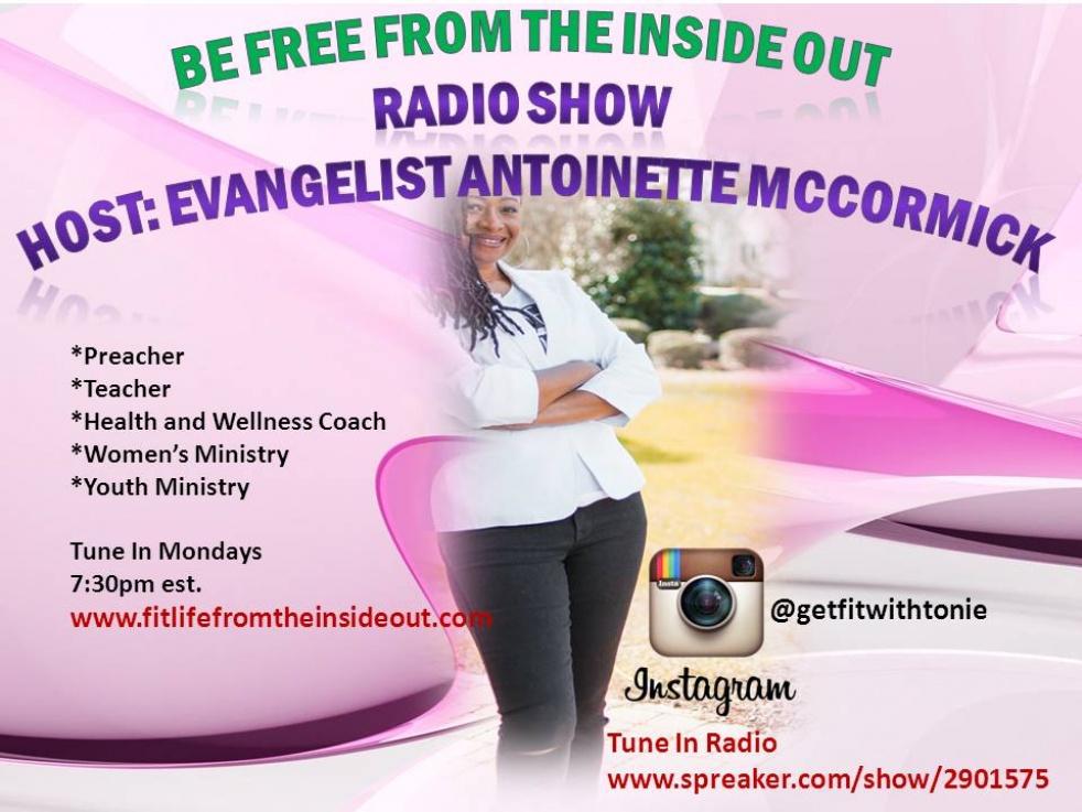 """""""Be Free From The Inside Out"""" Radio Show - immagine di copertina dello show"""