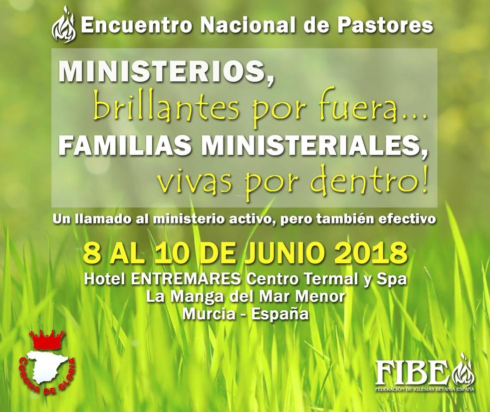 Encuentro Nacional de Pastores 2018 - imagen de show de portada