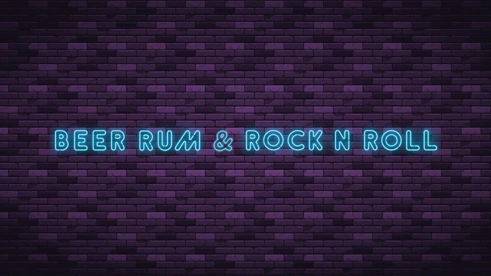 Beer Rum & Rock N Roll - show cover