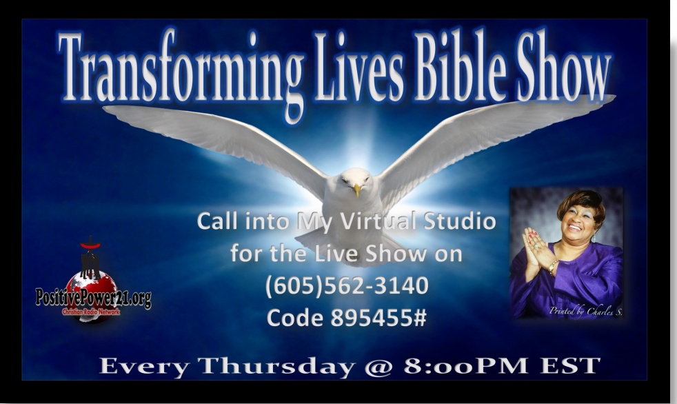 Transforming Lives Bible Show - show cover
