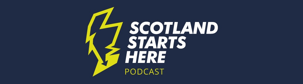 Scotland Starts Here - Cover Image