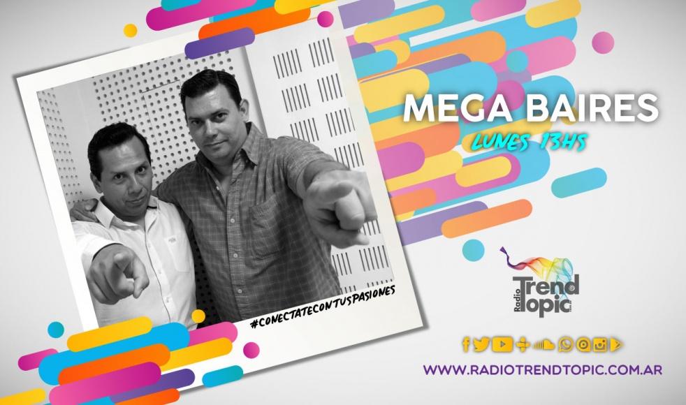 Mega Baires - show cover