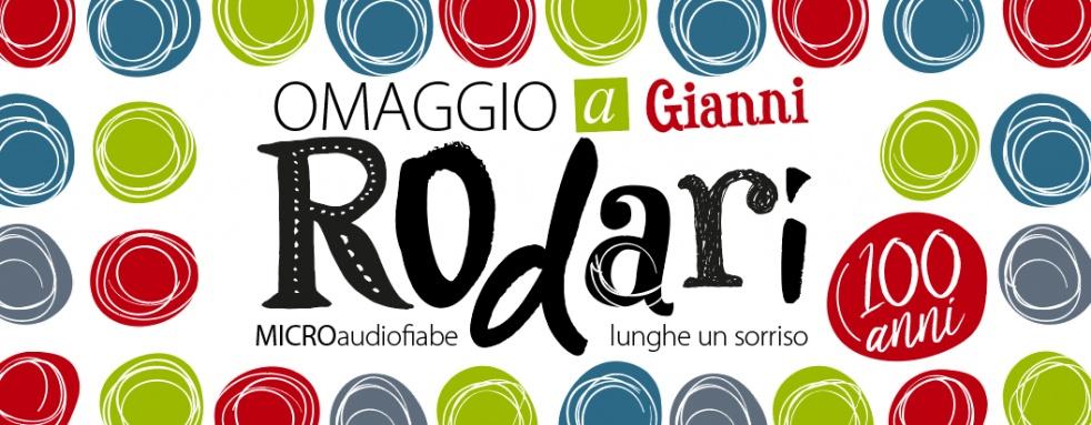 Omaggio a Rodari - micro audiofiabe lunghe un sorriso - LA BOTTEGA DELLE FAVOLE - imagen de portada