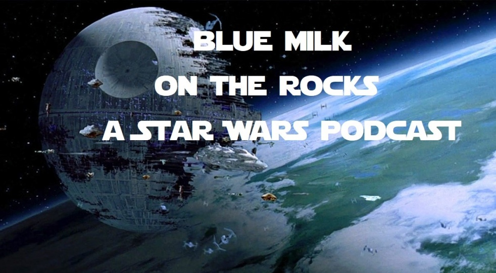 Blue Milk On The Rocks Podcast - imagen de show de portada