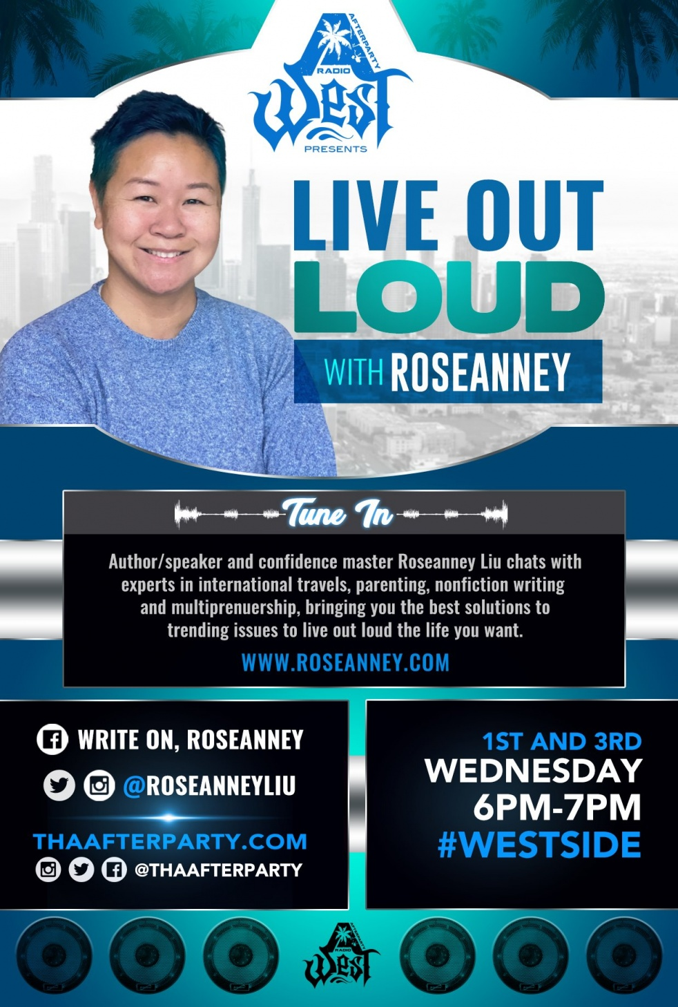 Live Out Loud with Roseanney - Cover Image