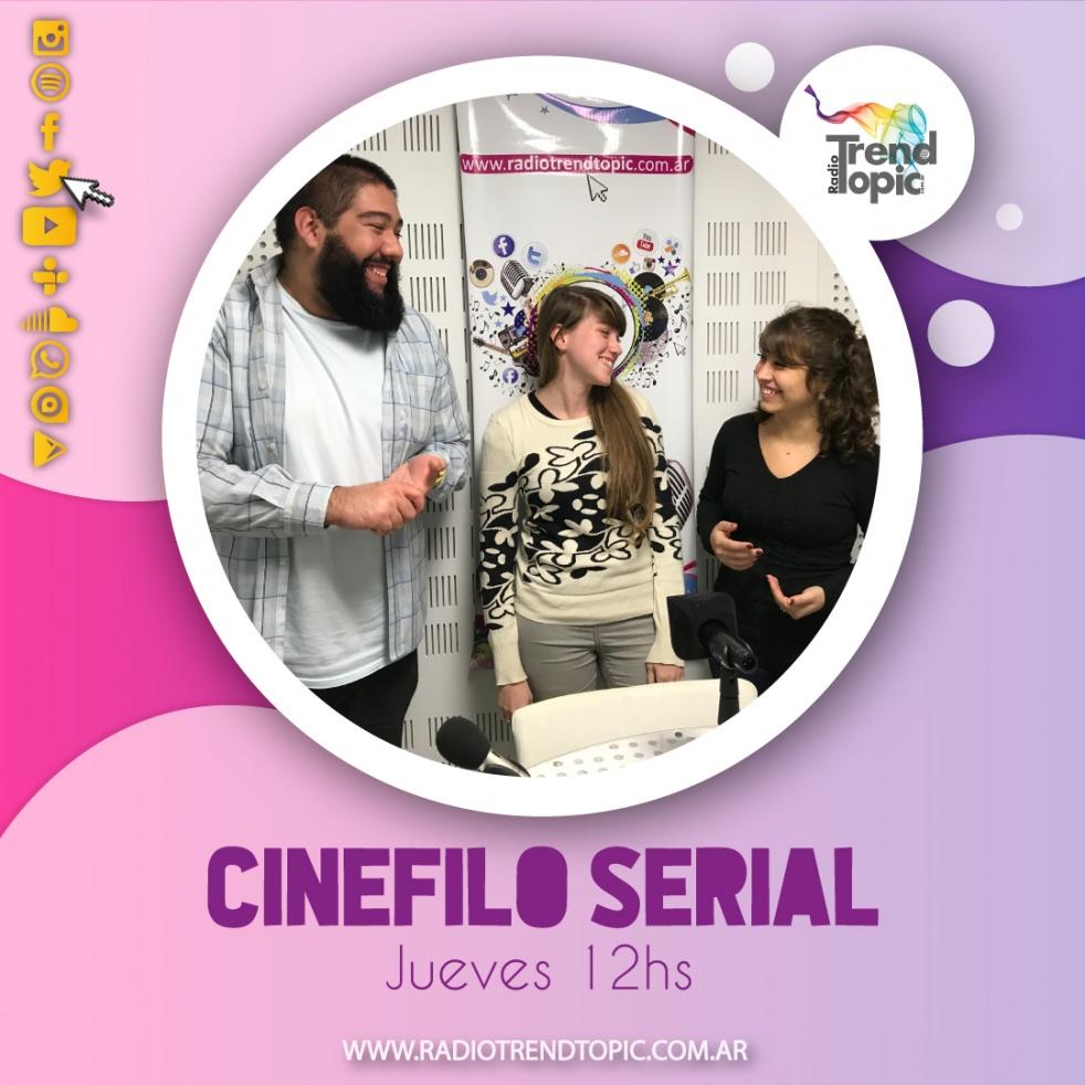 Cinefilo serial - Radio Trend Topic - imagen de show de portada
