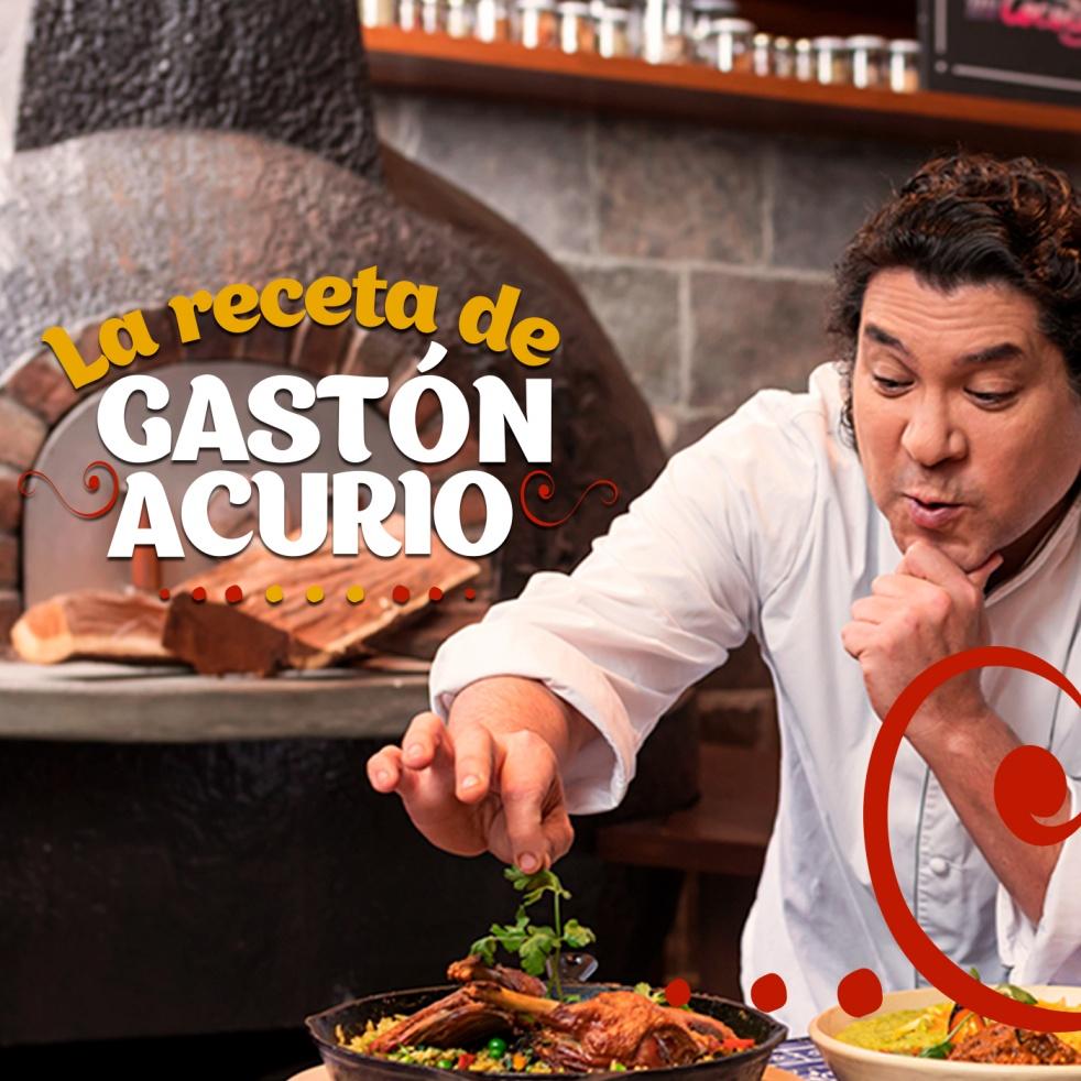 La receta de Gastón Acurio - show cover