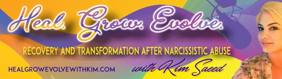 Heal, Grow, Evolve with Kim Saeed - Cover Image