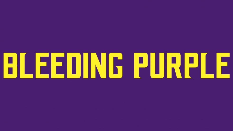 Bleeding Purple Podcast - show cover