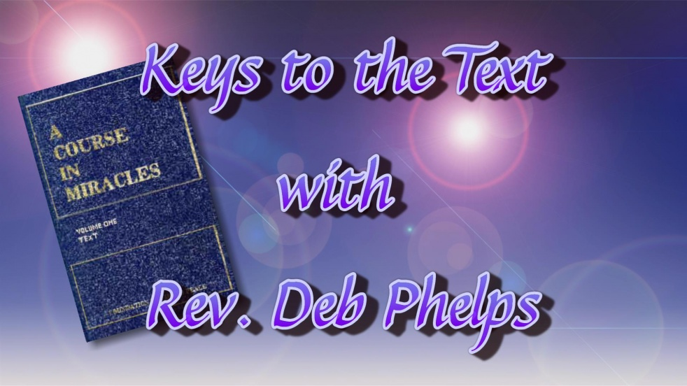 Keys to the Text in ACIM - Cover Image